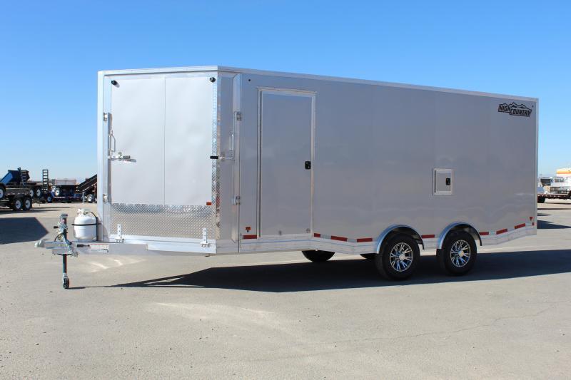 High Country 8.5x25 Peak Value Aluminum Snowmobile Trailer