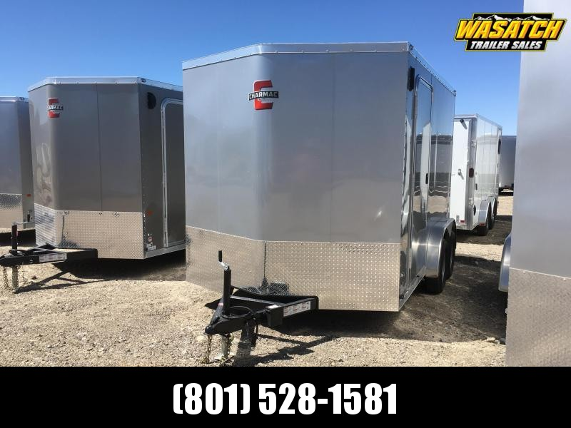 Charmac 7.5x12 Stealth Enclosed Steel Cargo w/ UTV Package