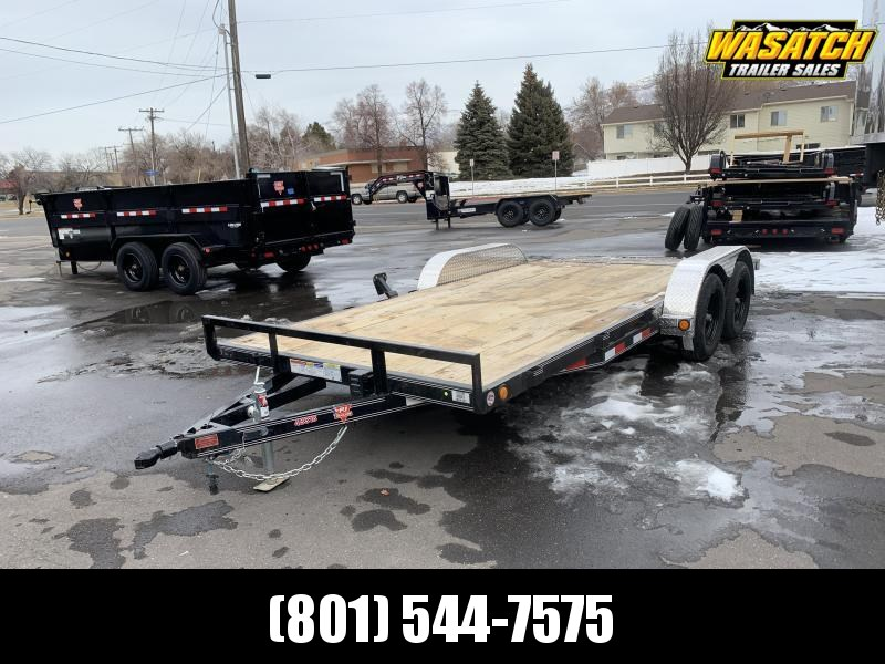 2020 PJ Trailers 18 ft - 4 in. Channel Carhauler (C4) Car / Racing Trailer