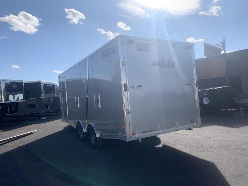 2020 High Country 8.5x22 Peak Value w/ Heater All-Sport Snowmobile Trailer