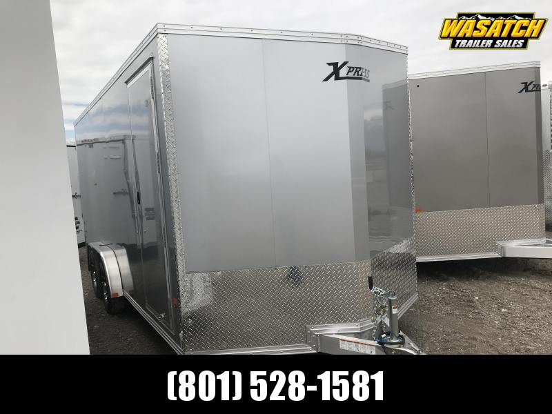High Country 7.5x18 Xpress Enclosed Aluminum Cargo w Finished Interior