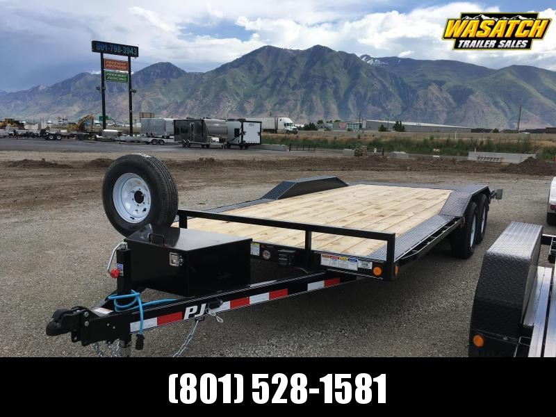 "PJ Trailers 8.5x20 5"" Channel (B5) Buggy Hauler"