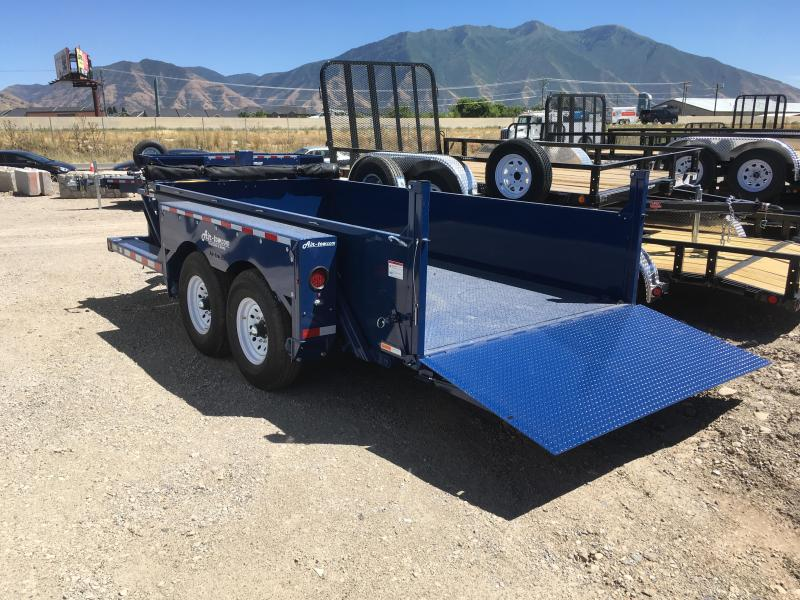 Air Tow 3D-12 Drop-Deck/Dump Trailer