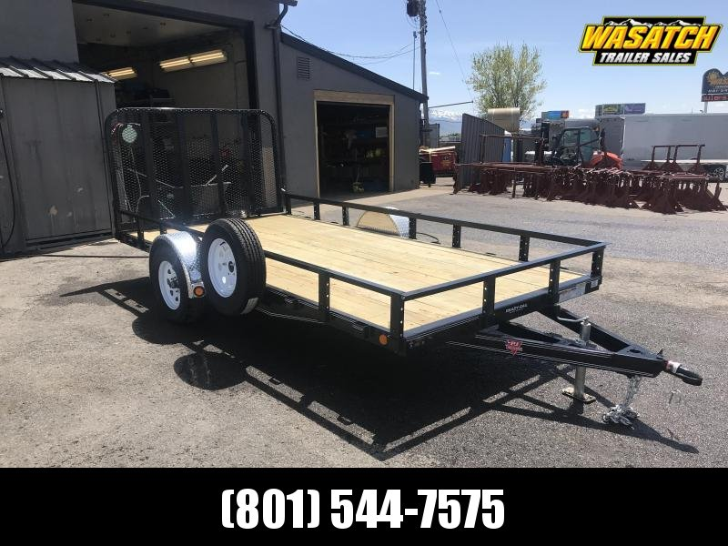 2019 PJ Trailers 83 in. Single Axle Channel Utility (U8) Utility Trailer