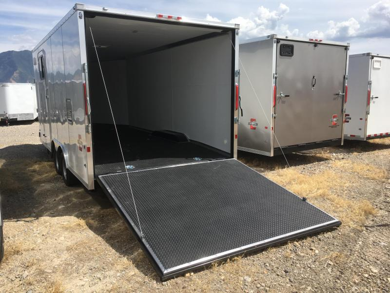 Charmac 8.5x24 Stealth Tri Sport Enclosed Steel Snowmobile Trailer