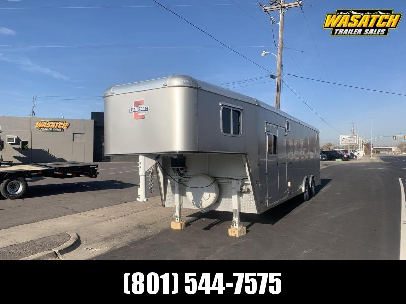 2013 Charmac Trailers 36ft Gooseneck Enclosed Cargo Trailer
