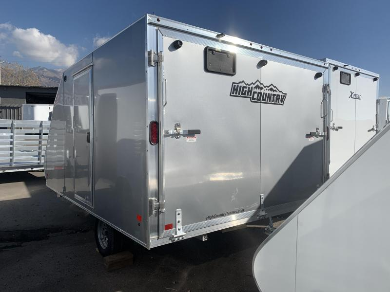 2020 High Country 12ft Crossover Deckover Snowmobile Trailer