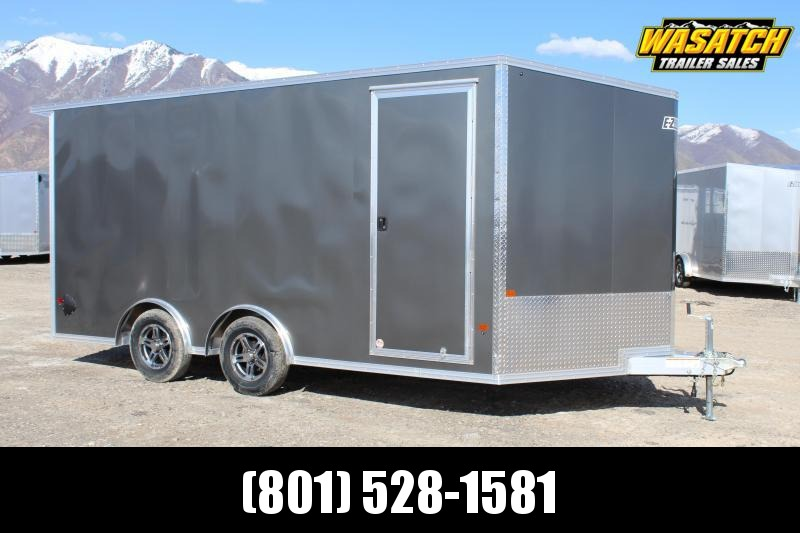 EZ Hauler 8.5x16 Aluminum Enclosed Cargo Trailer