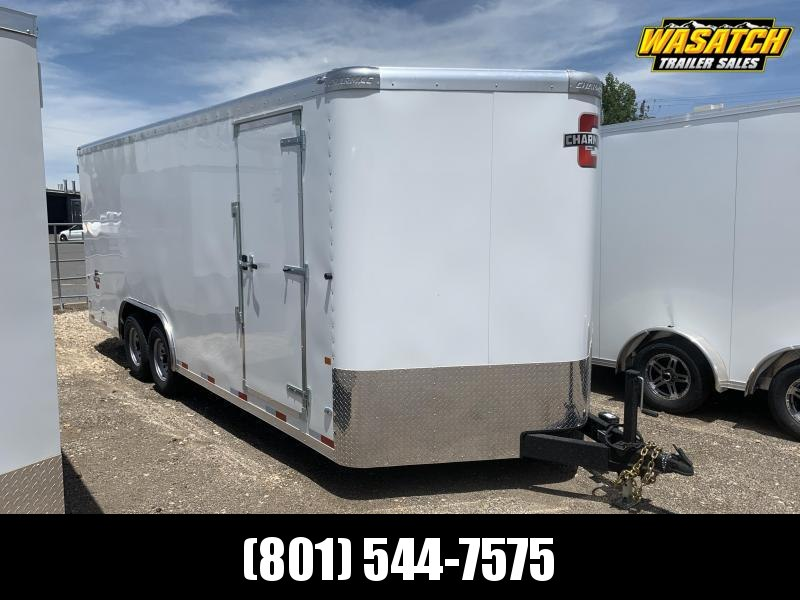 Charmac 18' Commercial Duty Enclosed Cargo w/ Barn Doors