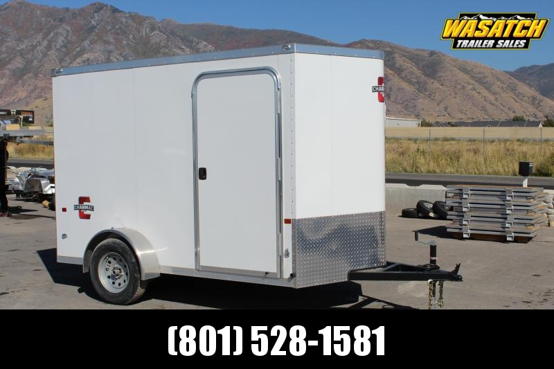 Charmac 6x10 Stealth Enclosed Steel Cargo Trailer w/ V-Nose