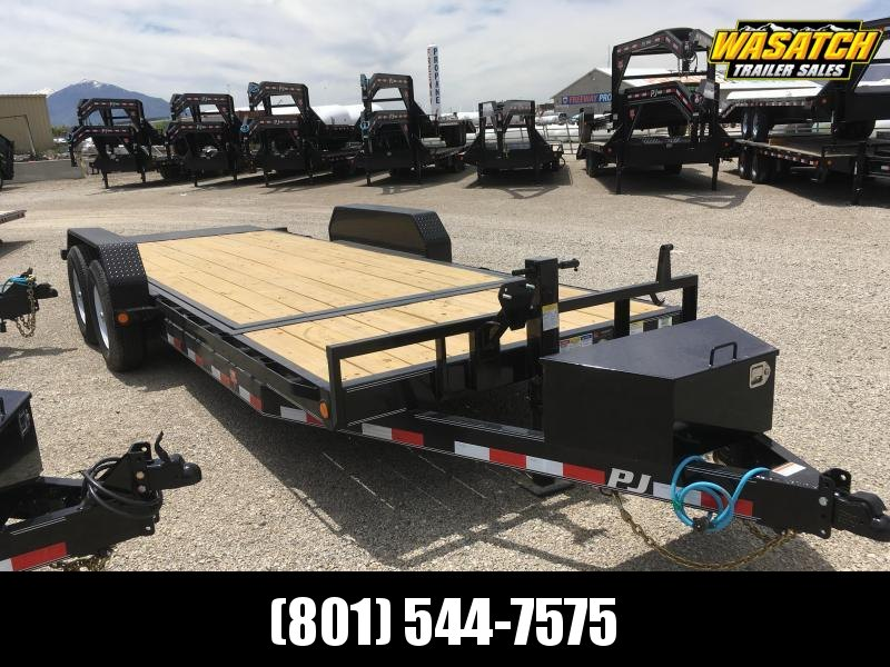 2020 PJ Trailers 20ft - 6 in. Channel Equipment Tilt (T6) Equipment Trailer