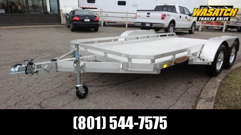 Aluma 7814R Aluminum Utility Trailer