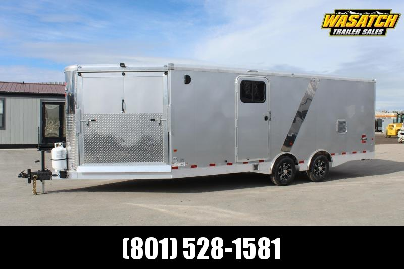 Charmac Trailers 8.5x28 Elite Tri Sport Snowmobile Trailer