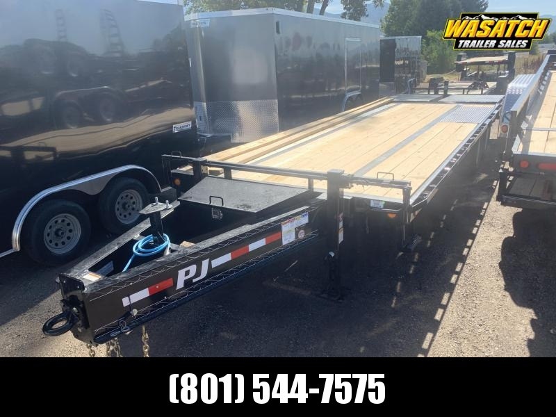 2020 PJ Trailers 25' - Low-Pro Pintle with Duals (PL) Flatbed Trailer