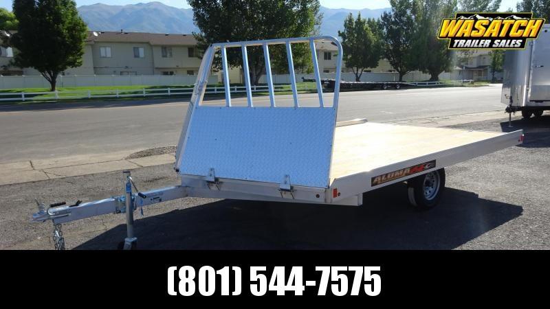 2020 Aluma 8612D Snowmobile Trailer