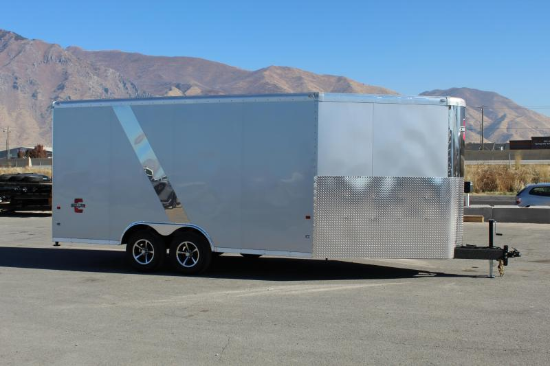Charmac Trailers 8.5x22 Tri Sport Snowmobile Trailer