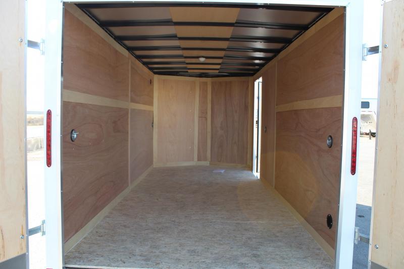 Haulmark 7x16 Passport Enclosed Steel Cargo Trailer