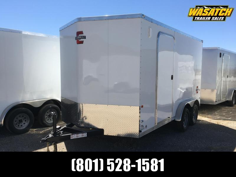 Charmac 7.5x14 Stealth Enclosed Cargo Trailer w/ V-nose