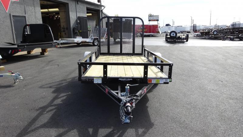 PJ Trailers 5x10 Single Axle Channel (U6) Utility Trailer