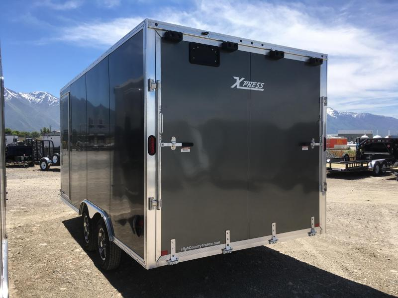 High Country 8x16 Xpress Enclosed Aluminum Cargo w/ Finished Interior