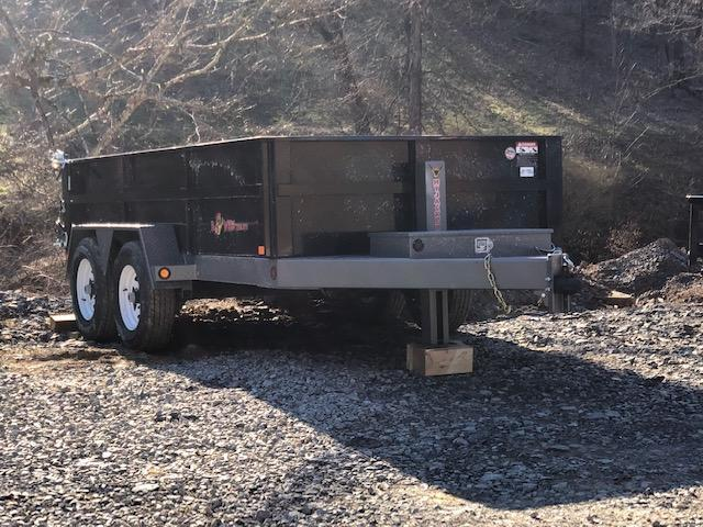 2019 B-Wise DLP12-10 Dump Trailer