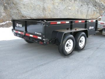 2019 Bri-Mar DT712LP-LE-12-A Dump Trailer