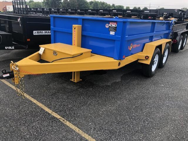 2019 B-Wise DLP10-10 Dump Trailer