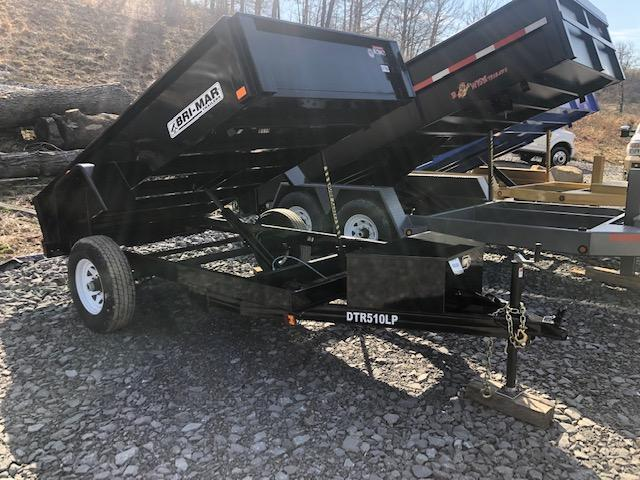 2019 Bri-Mar DTR510LP-5-D Dump Trailer