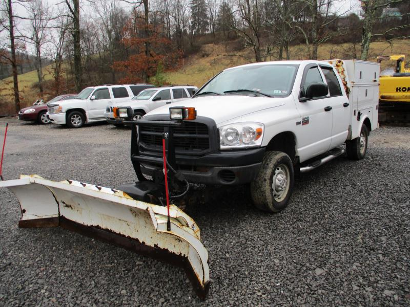 2008 Dodge RAM 2500 4X4 PLOW TOOL BODY Truck