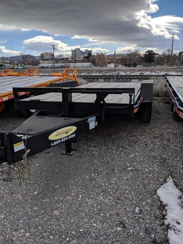 2018 Econoline LB0721TE Equipment Trailer