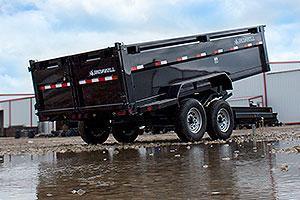 2020 Iron Bull DT12 - 14000lb GVWR Tandem Axle Dump Trailer