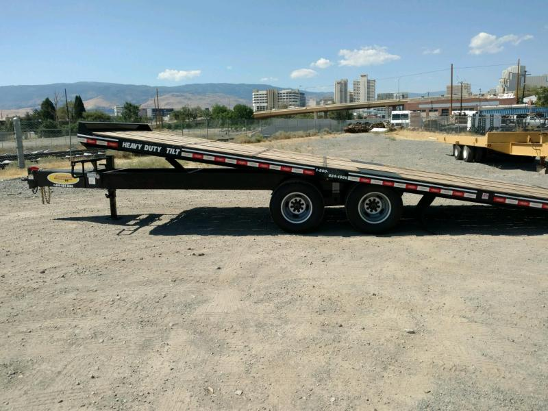 2020 Econoline 10-Ton Heavy Duty Dual-Tandem Tilt DP1025TE Equipment Trailer