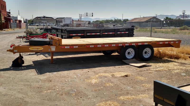 2018 Econoline BP0718FE Flatbed Trailer
