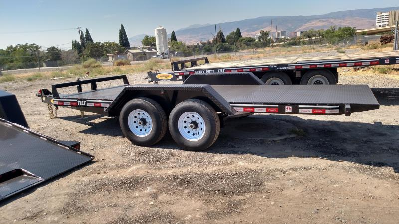 2017 Econoline 6-Ton Landscape Tilt LP0617TE Equipment Trailer