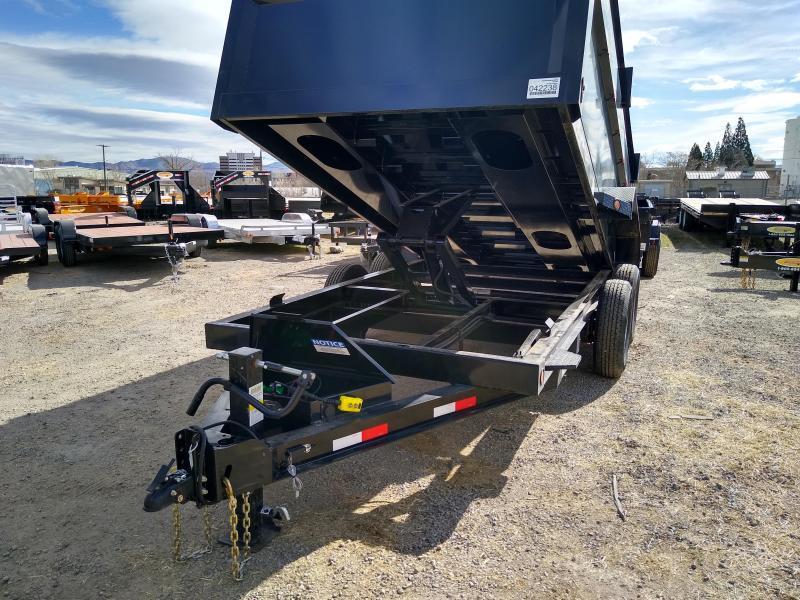 2020 Iron Bull DT14 14000lb GVWR Tandem Axle Dump Trailer