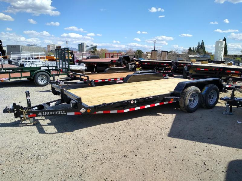 2020 Iron Bull EQ14 - 10000lb GVWR Tandem Axle Equipment Trailer