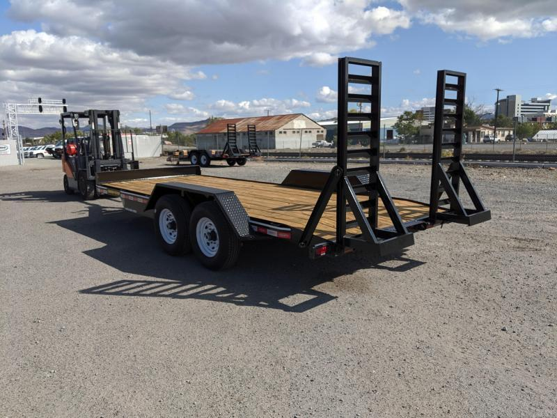 2020 Econoline 7-Ton Landscape Dovetail (Loader Toter) AP0718DE Equipment Trailer