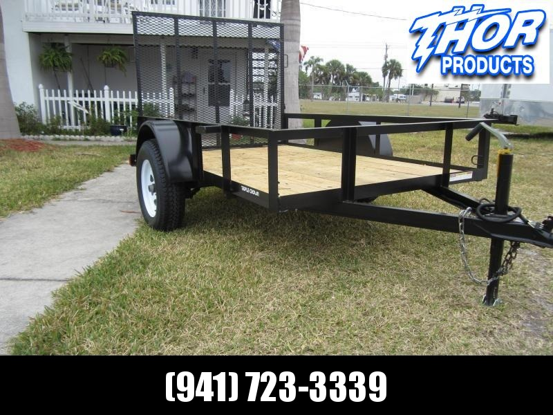 NEW 5 x 10 SA Utility Trailer w/ramp