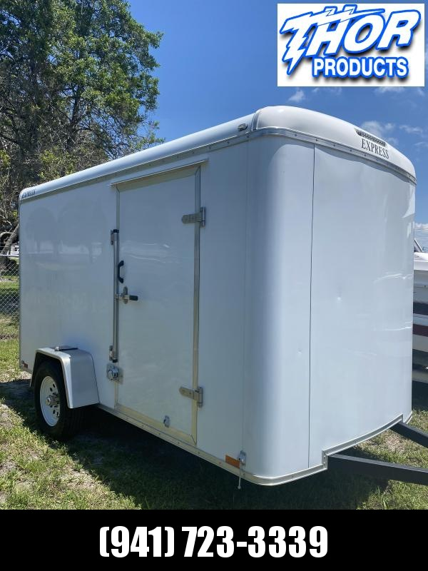 USED 2016 Express Trailers 6X12 SA Enclosed Cargo Trailer