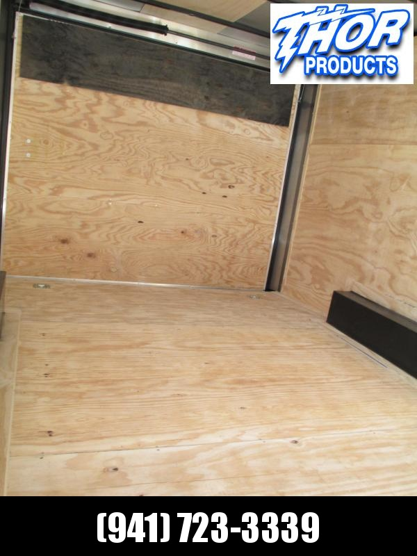 NEW 8.5 X 16 TA Enclosed Trailer w/Ramp Radial Tires Roof vent and sidewall vents and shelf in front
