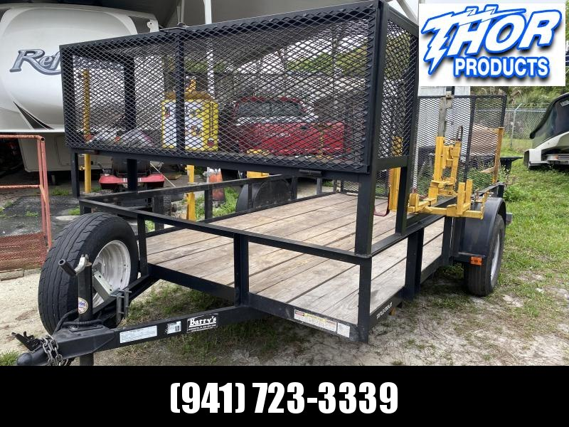 USED 6.4 x 12 SA Utility Trailer w/Ramp & LOTS of extras!  BE IN BUSINESS TODAY!!