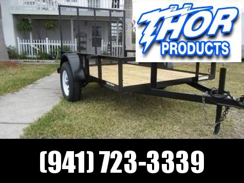 NEW 5 x 8 SA Utility Trailer w/ramp