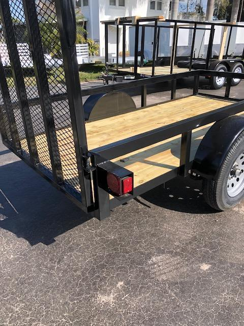 NEW 6.5x12 Utility Trailer w/Tube Top * LED lights * Ramp