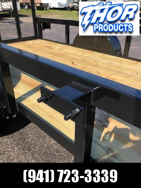NEW 6.5x12 Utility Trailer w/Tube Top * LED lights * Ramp