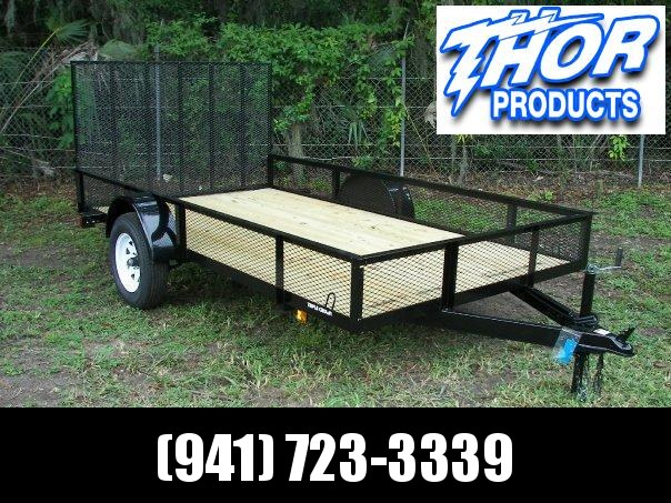 Triple Crown 6.4 x 14 SA Utility Trailer w/Ramp