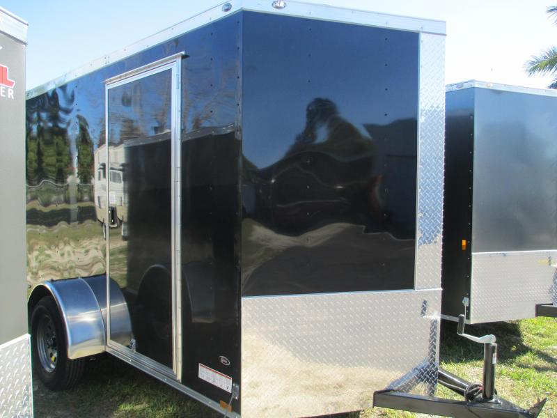 NEW 6 x 12 SA Trailer Ramp Door and side door .030 BLACK therma cool ceiling