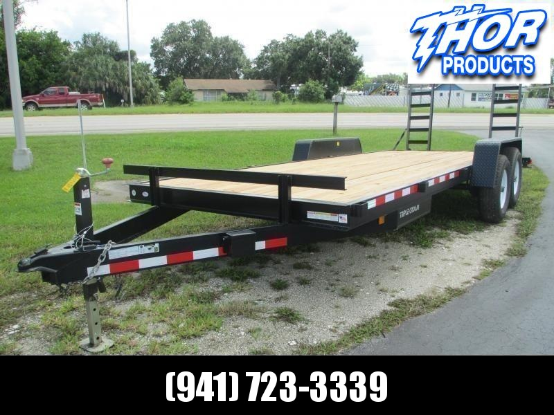 NEW 7x20 Equipment Trailer 14K w/ramps