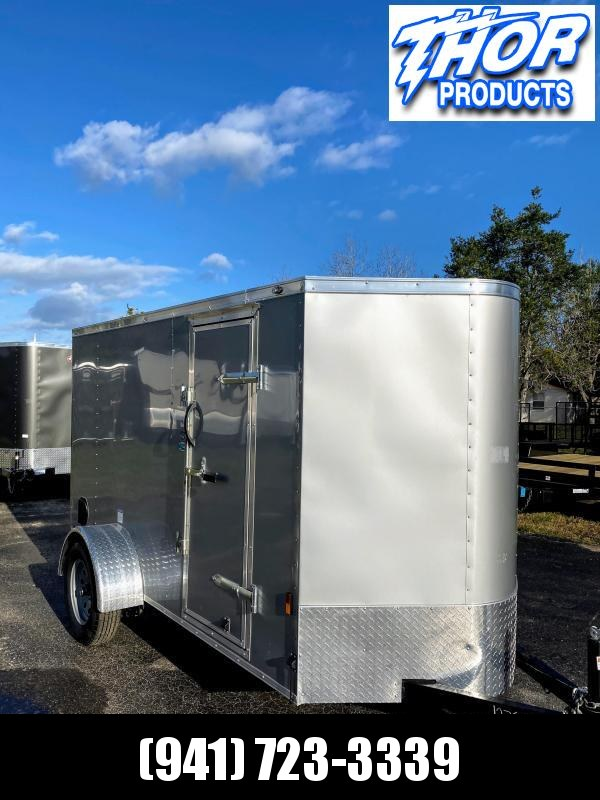 5X10 V-nose w/ Side Door and Ramp door .030 DIAMOND ICE