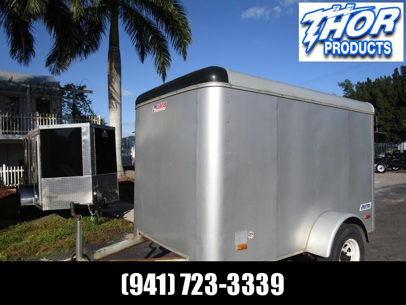2005 Pace American 5x8 Enclosed Cargo Trailer