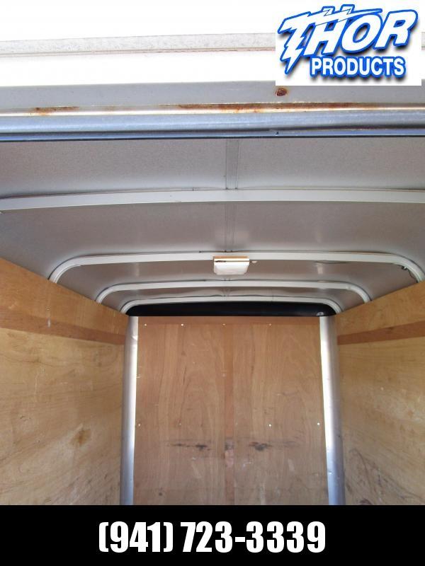 USED 5x8 Trailer with rear swing door
